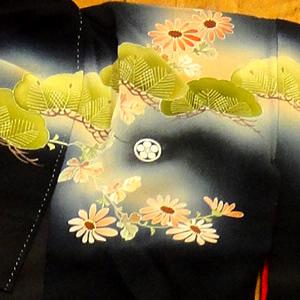 紋付の着物