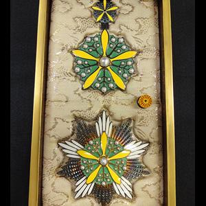 大勲位蘭花大綬章(満洲帝国)
