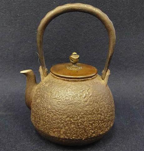茄子形京鉄瓶