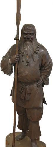 高村光雲 木彫「猿田彦像」