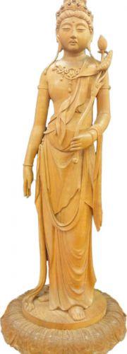 高村光雲 木彫「聖観音像」