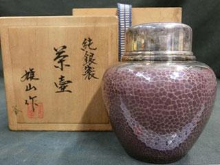 純銀製 茶壺