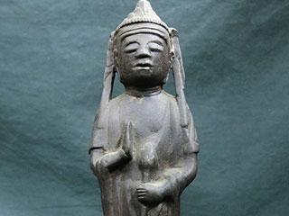観音菩薩立像 仏像 鋳銅