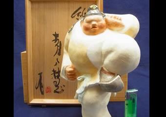 青戸慧 紙塑人形