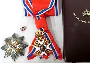 ノルウェー 聖オーラヴ勲章
