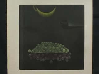 浜口陽三 銅版画