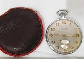 ユリスナルダン 手巻 懐中時計