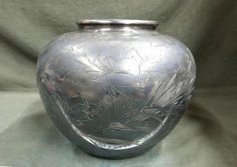 純銀製 花瓶