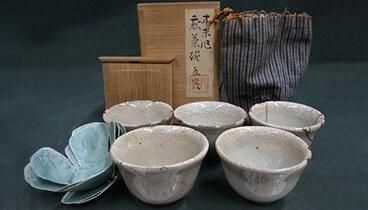 青木木米 煎茶碗