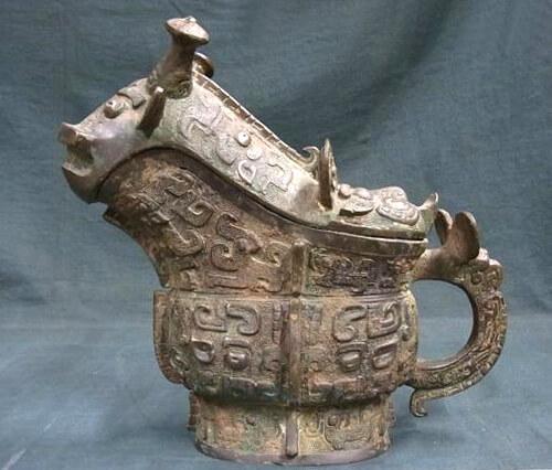 中国青銅器ジコウ